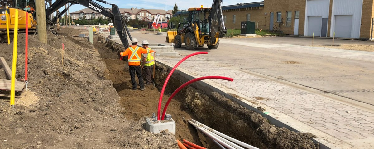 Work Ramping Up This Spring in Red Deer's Capstone